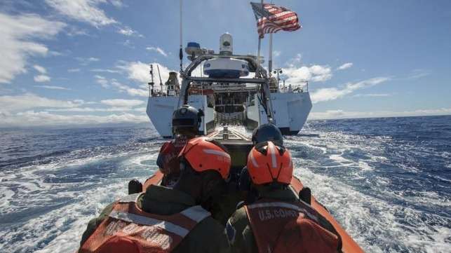 Bill to Restore U.S. Coast Guard Pay Moves Ahead (1/18/19)